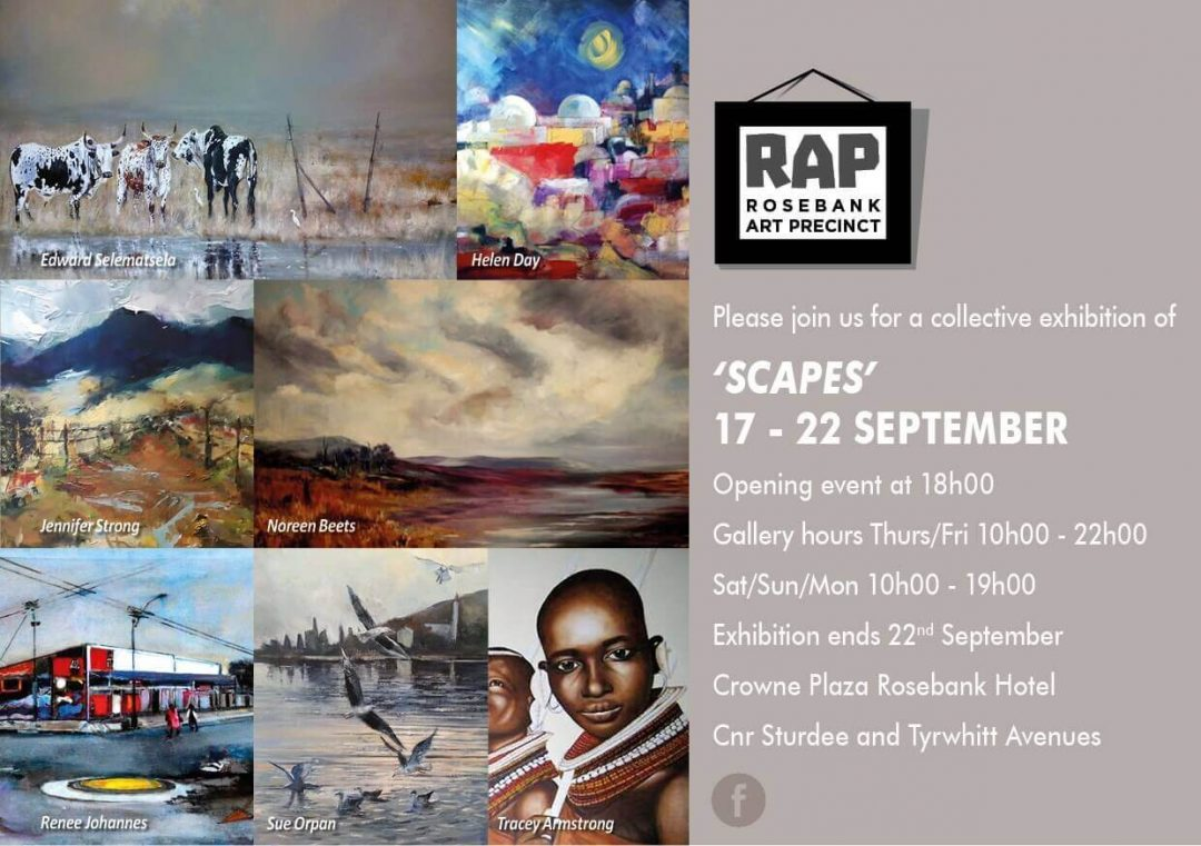 Rap Exhibition Invite